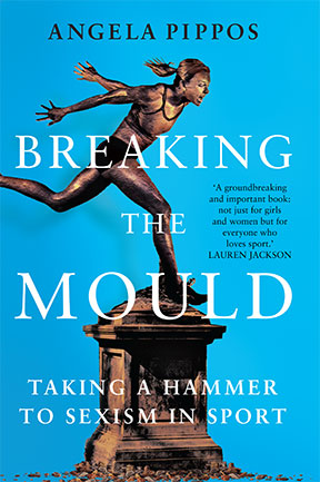 Angela Pippos author of Breaking the Mould