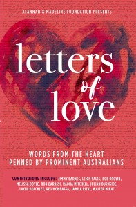Letters of Love by the Alannah & Madeline Foundation, published by Affirm Press