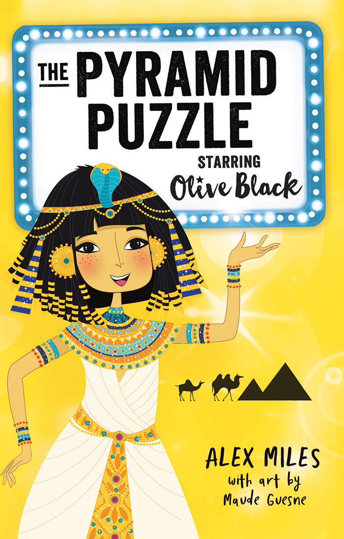 The Pyramid Puzzle: Starring Olive Black