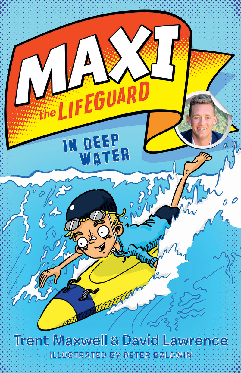 Maxi the Lifeguard In Deep Water