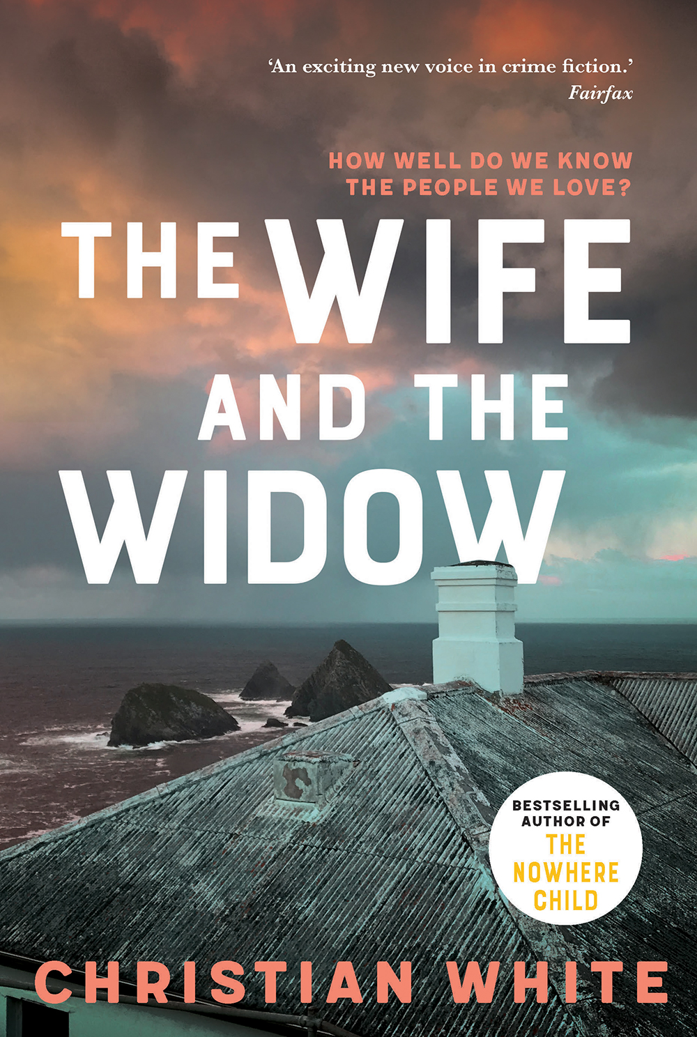 The Wife and the Widow by Christian White author of The Nowhere Child