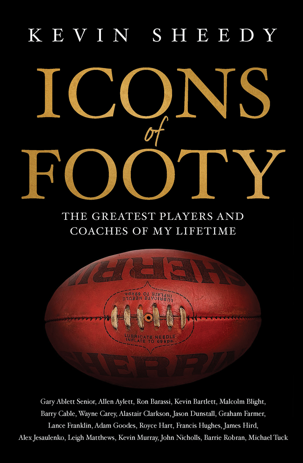Icons of Footy Kevin Sheedy