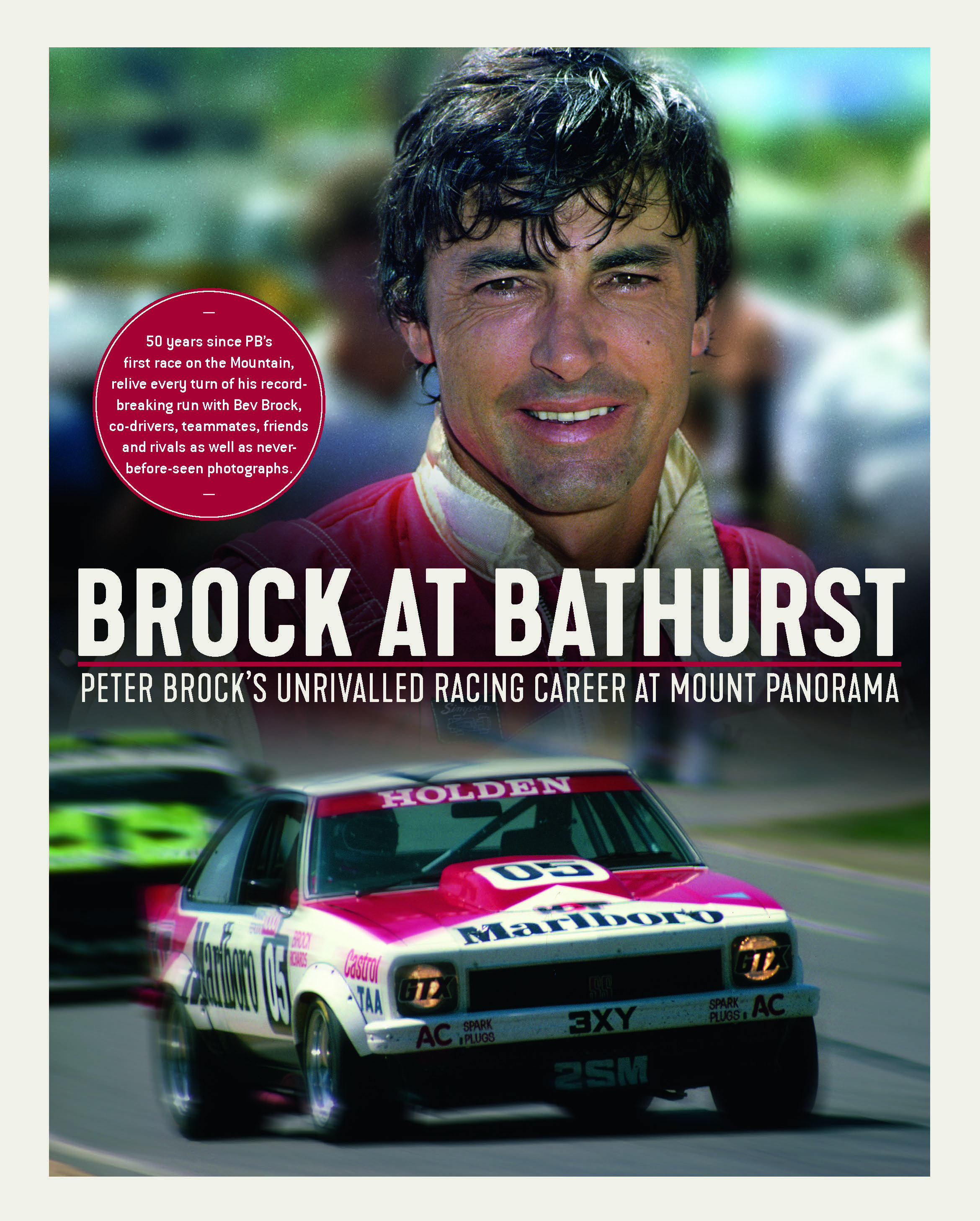 Brock at Bathurst Peter Brock Bev Brock