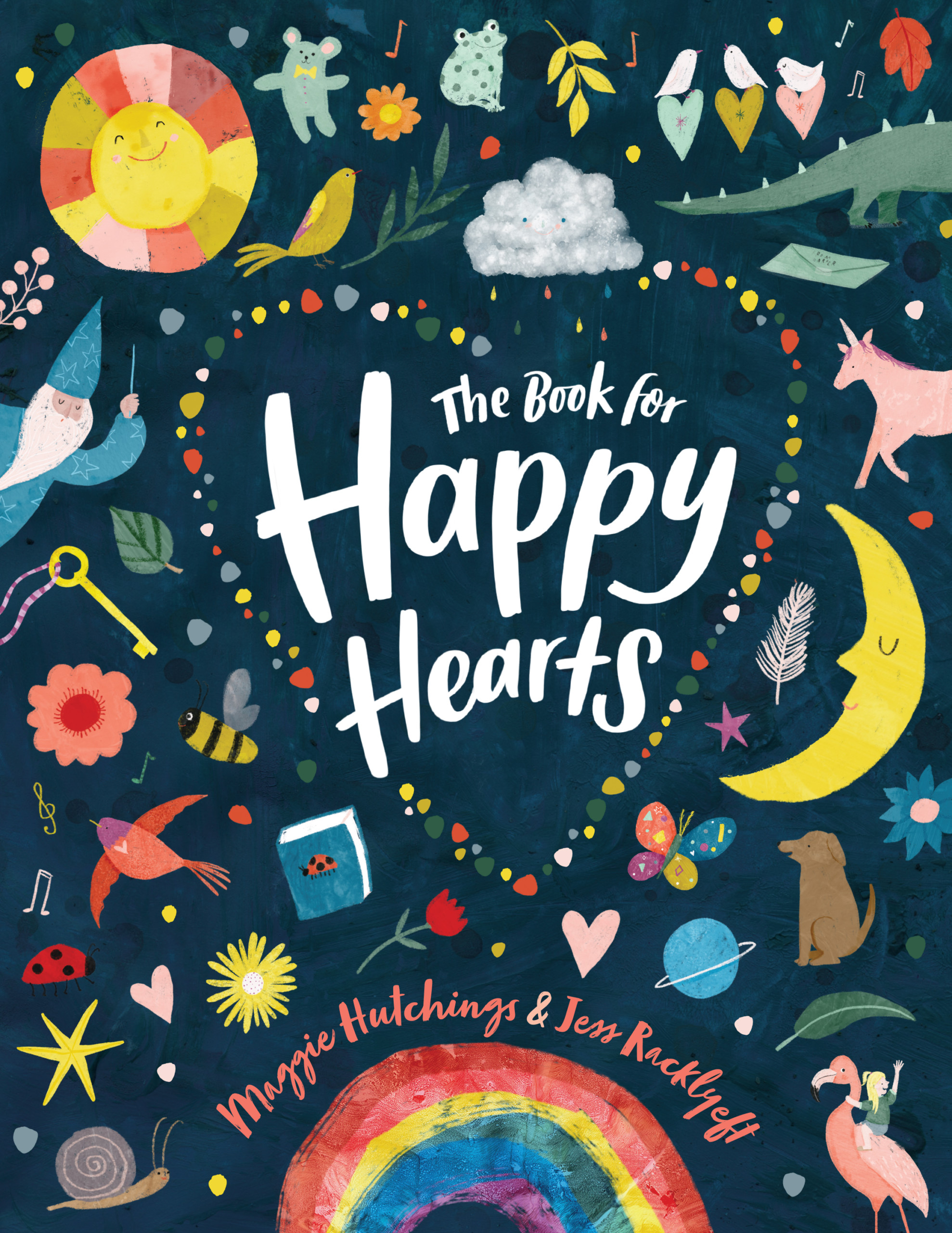 Happy Hearts by Maggie Hutchings, illustrated by Jess Racklyeft