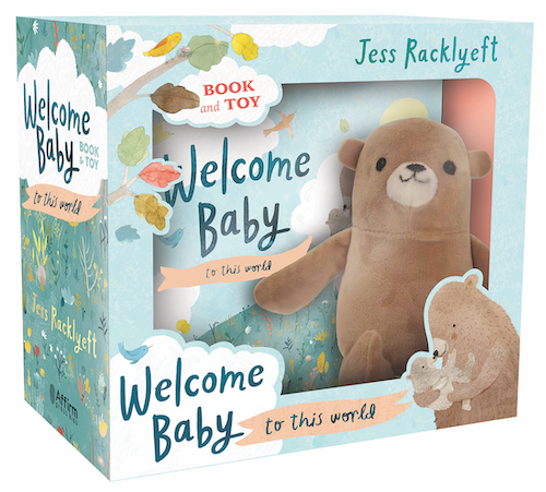 Welcome Baby Book and Toy by Jess Racklyeft